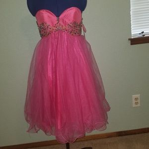 Cinderella prom / homecoming dress